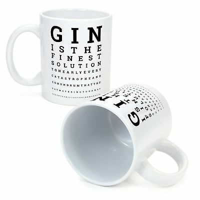 Ginsanity The Gin Collective The Gin Eye Test Poster A3