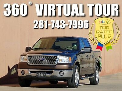 2008 Ford F-150 Lariat Crew Cab Pickup 4-Door 2008 FORD F-150 LARIAT CREW CAB 2WD! ACCIDENT FREE! 1 OWNER! CARFAX CERTIFIED!