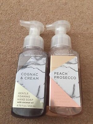Bath & Body Works Gentle foaming hand soap Peach Prosecco/Cognac & Cream