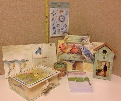 LARGE LOT 8PCS HALLMARK  Marjolein Bastin Nature's Sketchbook~ MUST SEE PHOTOS!