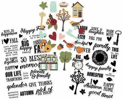 Simple Stories 9239 Vintage Blessings Clear Stickers