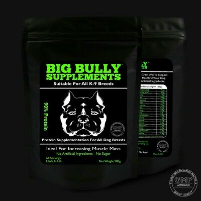 Big Bully Supplements 90% Protein (66 Servings) Dog Muscle Builder