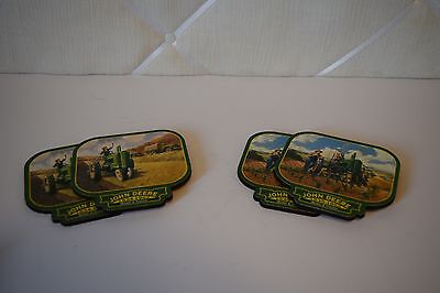 John Deere Set of 4 Drink Coasters