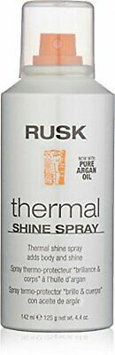 RUSK Designer Collection Thermal Shine Spray with Argan Oil, 4.4 fl. oz.