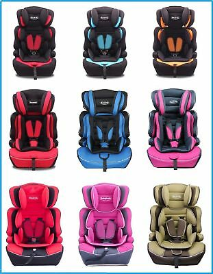 Portable 3 in 1 Booster Safety Child Baby Car Seat Group 1+2+3 9-36KG ECE R44/04