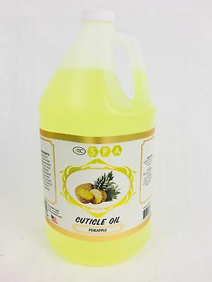 TSC SPA Cuticle Oil Pineapple Scented 1 Gallon (Made in USA)