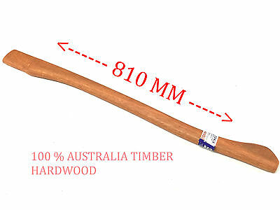 1 PCS AXE HANDLE 810 MM SPOTTED GUM 100% AUSTRALIA MADE (Brand New)
