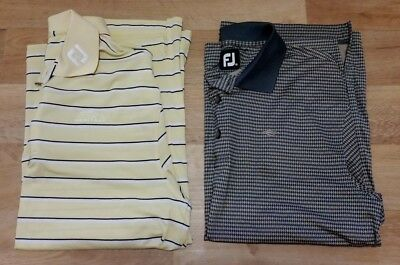 Footjoy Polo Shirt X2 Mens M - as new