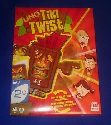*LOW PRICE* NEW SEALED RARE UNO TIKI TWIST Classic Family Fun Card Retired Game