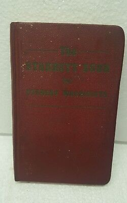Vintage Starrett Book for Student Machinists 1941 Copyright 1964 9th Edition