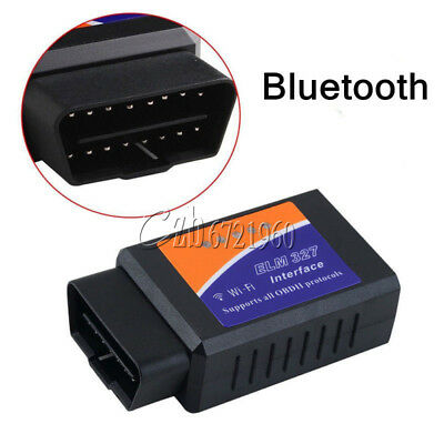 WiFi OBD2 OBDII ELM327 Car Diagnostic Scanner Code Reader Tool for iOS&Android