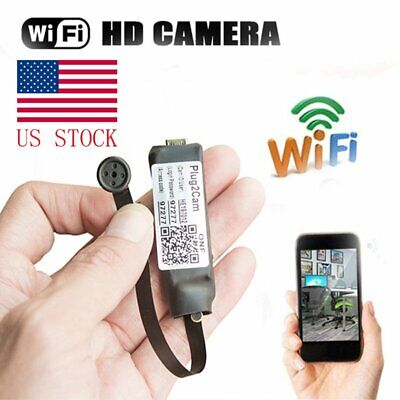 720P HD Mini Wireless WIFI IP Spy Camera Hidden DIY Module Cam Motion Detection
