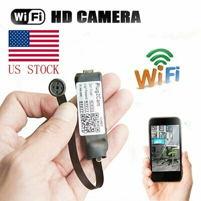 720P HD Night Vision Mini Wireless WIFI IP Spy Camera Hidden DIY Module US STOCK