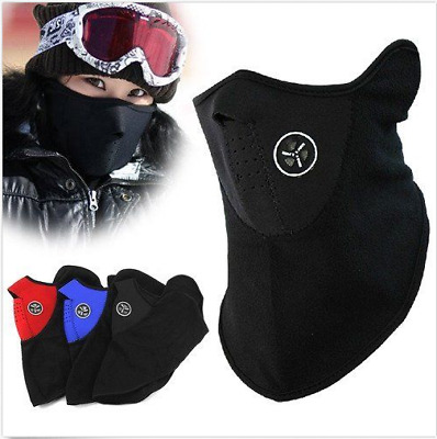 Ski Snowboard Motorcycle Bike Bicycle Winter Warm Sport Face Mask Neck Warmer #