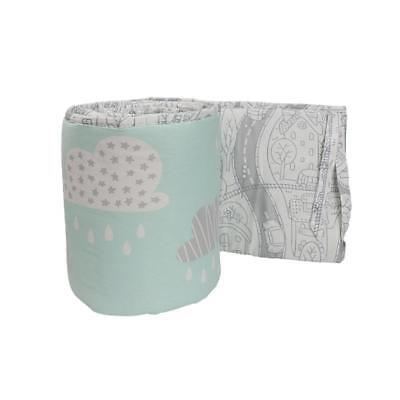 NEW Lolli Living 2 piece Cot Bumper My City Collection from Baby Barn Discounts