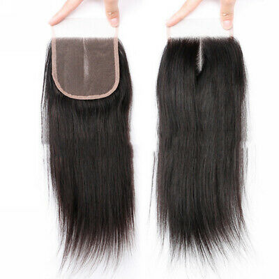 10X14CM White Straight Unprocessed Virgin Hair Lace Closure For Making Wig Cap
