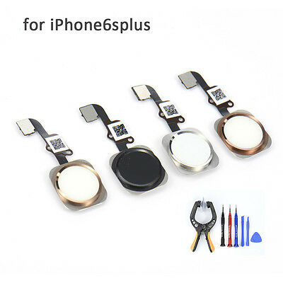Support TouchID Home Button for Apple iPhone 6s Plus Fingerprint Sticker replace