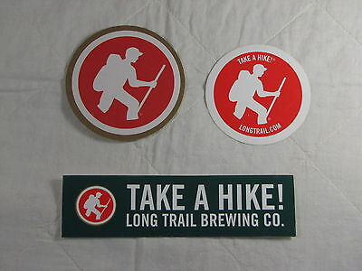 Long Trail Brewing in Vermont coasters and sticker