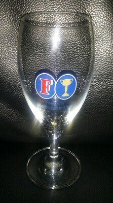 Vintage Rare Collectable 1985 Melbourne Cup Fosters Beer Glass Great Condition