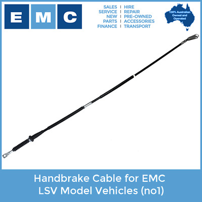 Handbrake Cable for EMC LSV Electric Vehicles (no1)
