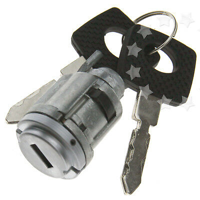 Ignition Barell Lock Switch Cylinder Steering Keys Set For Mercedes W124 E CLASS