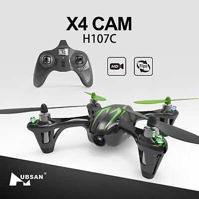1Hubsan H107C X4 Drone 2.4G 4CH RC Quadcopter with 720P HD Camera, LED, RTF 2018
