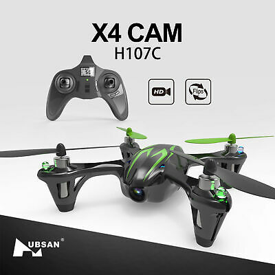 Hubsan H107C X4 Drone 2.4G 4CH RC Quadcopter with 720P HD Camera, LED, RTF 2018