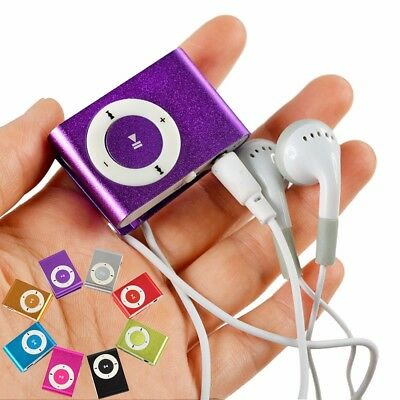 Mini Clip Metal USB MP3 Player Support Micro SD TF Card MP3 Music player