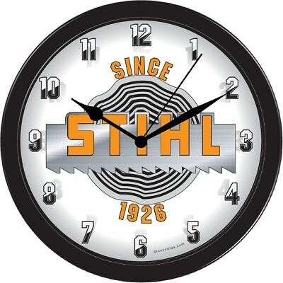 Stihl equipment Since 1926 Collectible Wall Clock vintage Home shop garage part