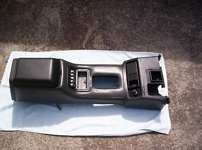Ford Xd Xe Zj Zk Fairmont Ghia, Fairlane, Ltd, Console With Power Window Switch
