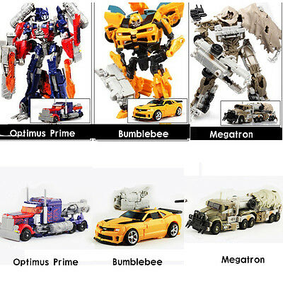 Dark of the Moon Transformers Autobots Optimus Prime Action Figure Robot Toy Kid