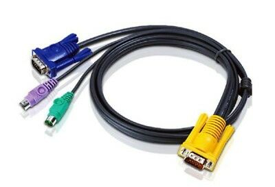 Aten 6m PS/2 KVM Cable to suit CS7xE, CS13xx, CS17xxA, CS17xxi, CL5xxx, CL10xx,