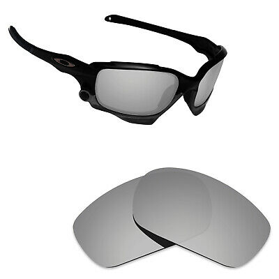92f7c9c82f Hawkry Polarized Replacement Lenses for-Oakley Jawbone Silver Titanium