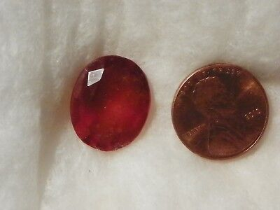 Hessonite Orange Garnet 17.75 Carats 15.60x18.70x8.12 MM. Oval Faceted Silky
