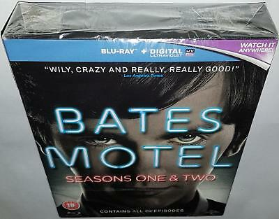 Bates Motel Complete Seasons 1 & 2 Brand New Sealed Region Free Bluray
