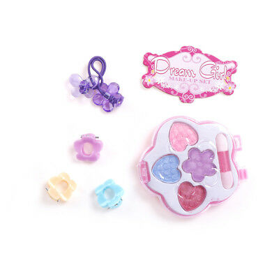 1Set Princess Pretty Shell Kids Girl Makeup Toy Cosmetics Eyeshadow Gift   Gt