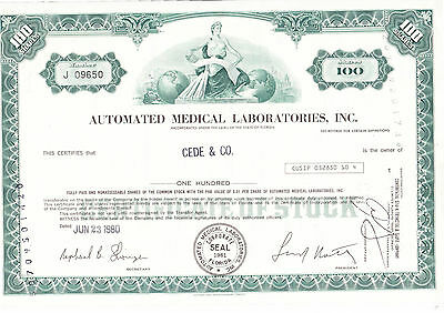 Automated Medical Laboratories, Inc., 1980