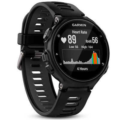 New Garmin Forerunner 735XT GPS Multisport and Running Watch - Black/Grey