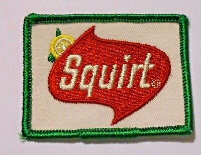 Squirt Embroidered Soda Patch Vintage 2-3/4""