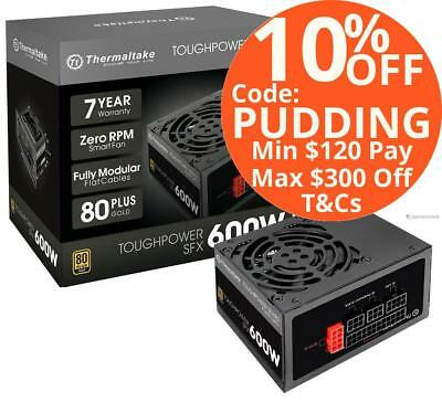 Thermaltake ToughPower SFX 600W 80PLUS Gold Fully Modular PSU Power Supply