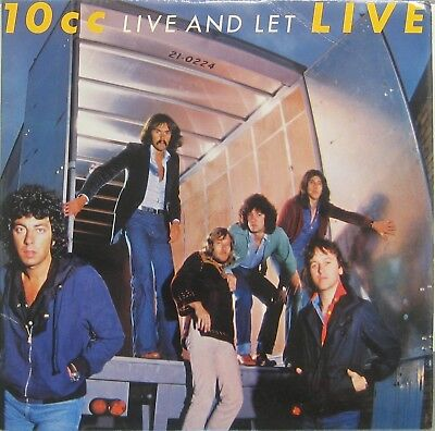 10 CC Live and let UK  2 LP