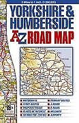 Yorkshire and Humberside Road Map (A-Z Road Maps & Atlas... | Book | second hand