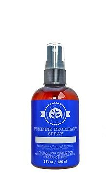 Feminine Deodorant Spray - Long Lasting Protection - Antibacterial