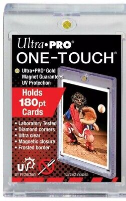 4 New Uv Ultra Pro One Touch 180Pt Magnetic Holders 82233