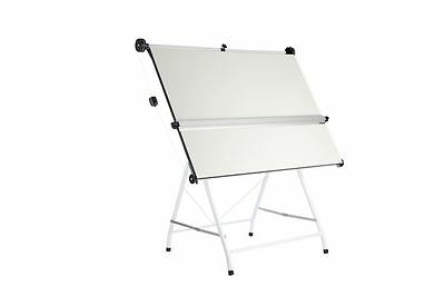 A1 Tubular Drawing Board,stand & C/w Parallel Motion