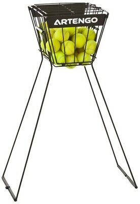 Steel Structure - Tennis Ball Basket for Coaches, Holds Up To 60 Tennis Balls