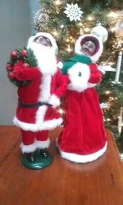 1997 African-American Santa & Mrs. Claus  SIGNED BY JOYCE!