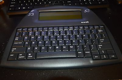 Neo 2 Word Processor Keyboard By Alphasmart -Tested & Working - with USB Cable