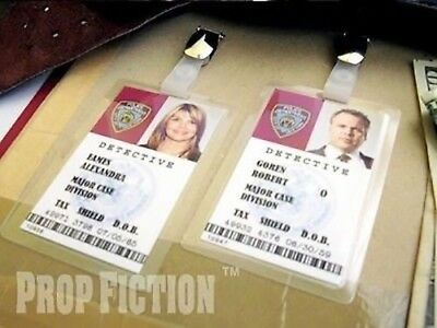 Law & Order: Criminal Intent - Prop Police Badges / Cosplay NYPD ID Cards