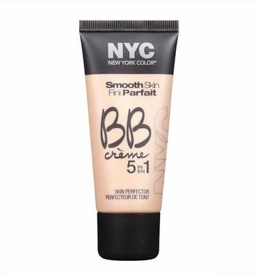 NYC Smooth Skin BB Cream Creme 5 in 1 Skin Perfector Light 30ml New